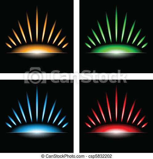 Abstract sun background - csp5832202