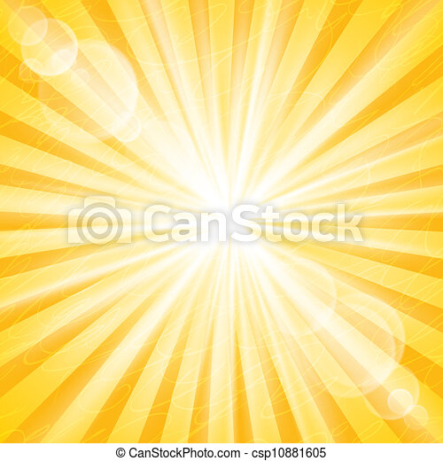 Abstract Sun Background - csp10881605