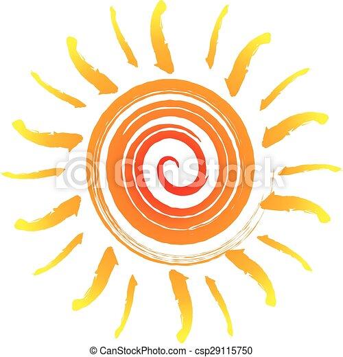 Abstract sun - csp29115750