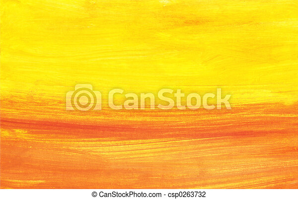 Abstract sunset - csp0263732