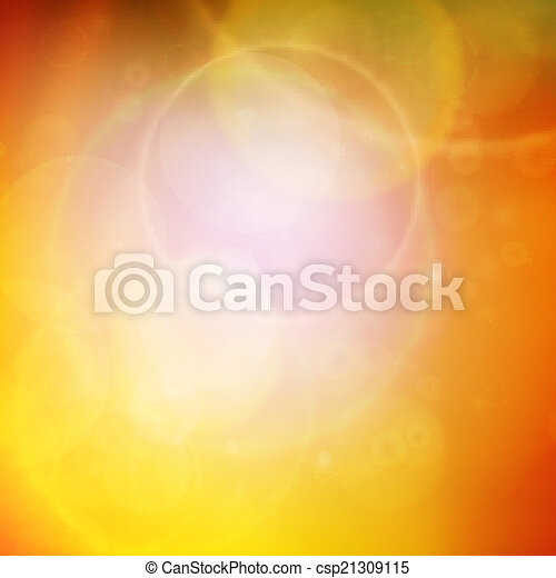 Abstract Sunset on sky with lenses flare. - csp21309115