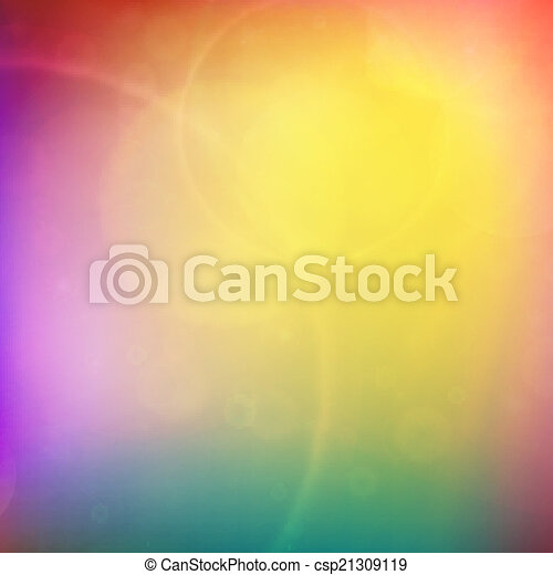 Abstract Sunset on sky with lenses flare. - csp21309119