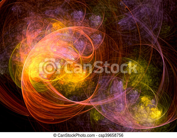 Abstract surreal background - digitally generated image - csp39658756