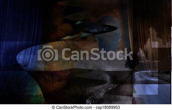 Abstract Surreal - csp18089953