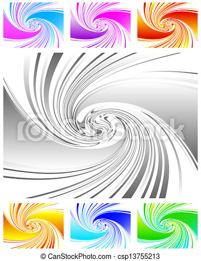 Abstract swirl background - csp13755213