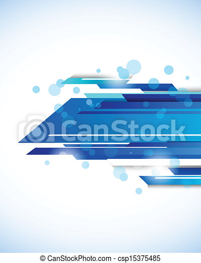 Abstract tech background - csp15375485