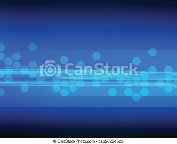 Abstract tech background - csp20224623
