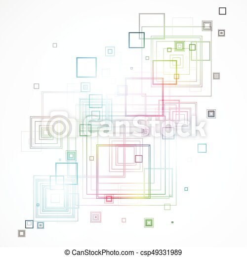 Abstract technological background - csp49331989