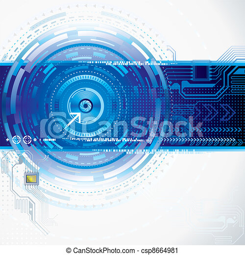 abstract, technologie - csp8664981