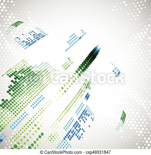 Abstract technology background. Vector - csp49331847