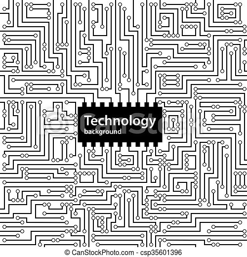 Abstract technology circuit board background, vector... eps vectors ...