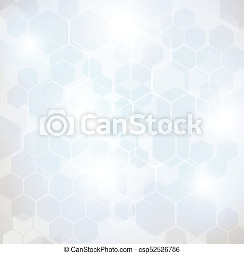 Abstract Technology hexagon background - csp52526786