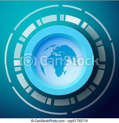 Abstract template with world map silhouette abstract template for abstract template with world map silhouette csp51793719 gumiabroncs Images