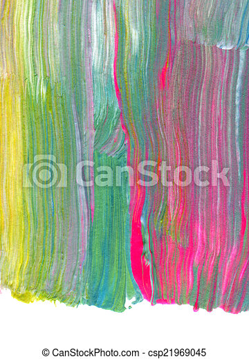 Abstract textured acrylic hand painted background - csp21969045