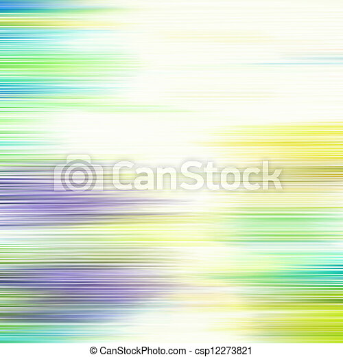 Abstract textured background: blue, green, and yellow patterns on white backdrop. For art texture, grunge design, and vintage paper / border frame - csp12273821