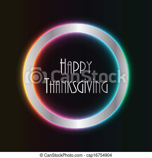 abstract thanksgiving background with special design - csp16754904