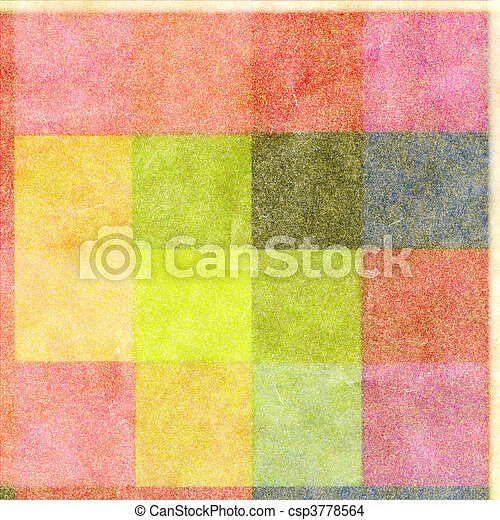 Abstract tiled background - csp3778564