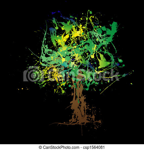 Abstract tree - csp1564081