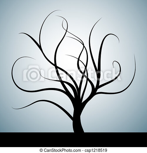 Abstract tree - csp1218519