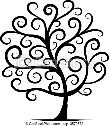 Abstract tree for your design - csp13570872