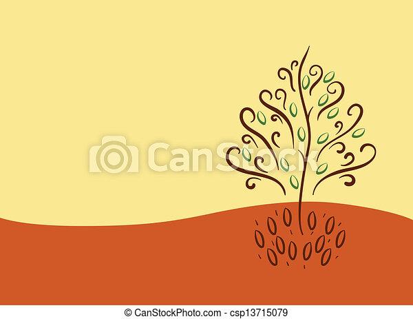 abstract tree - csp13715079
