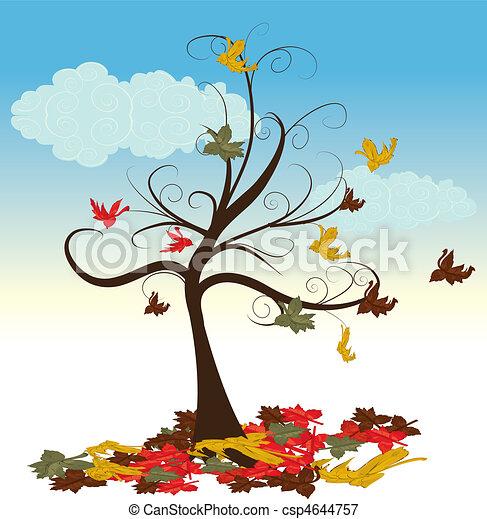 Abstract tree  - csp4644757