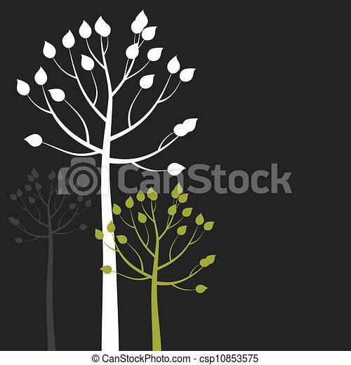Abstract tree6 - csp10853575