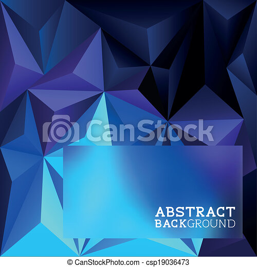 Abstract Triangle Background - csp19036473