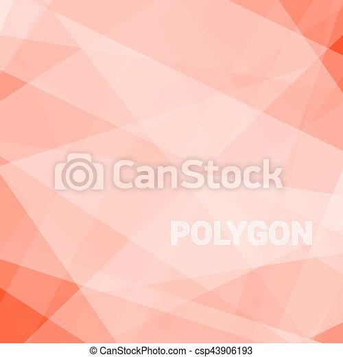 Abstract triangular background - csp43906193