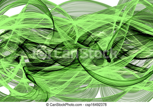 abstract twisted net wave - csp16492378