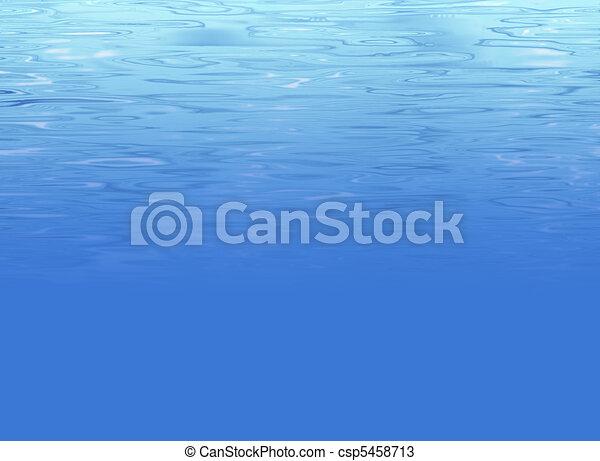 Abstract underwater background - csp5458713