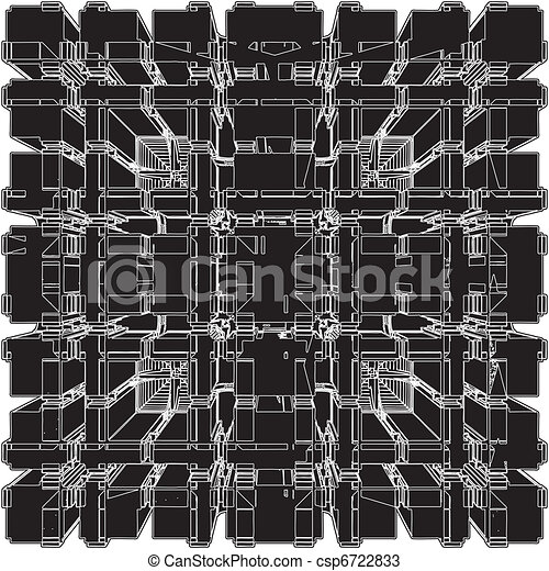 Abstract Urban City Building - csp6722833