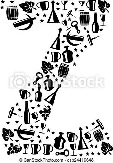 Abstract vector alphabet - Z