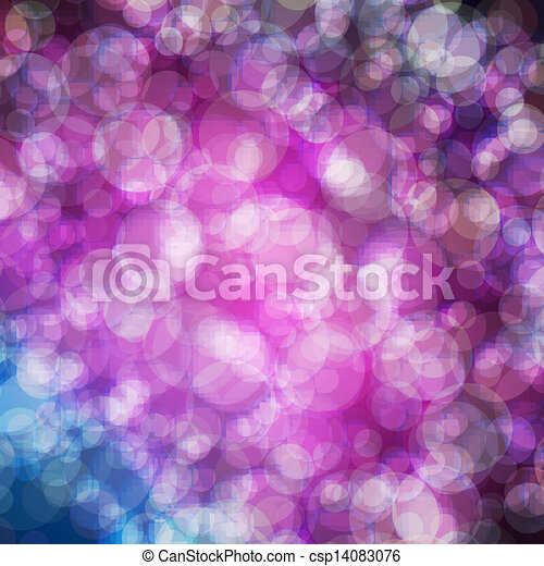 Abstract vector background eps10, colorful lights bubble. - csp14083076
