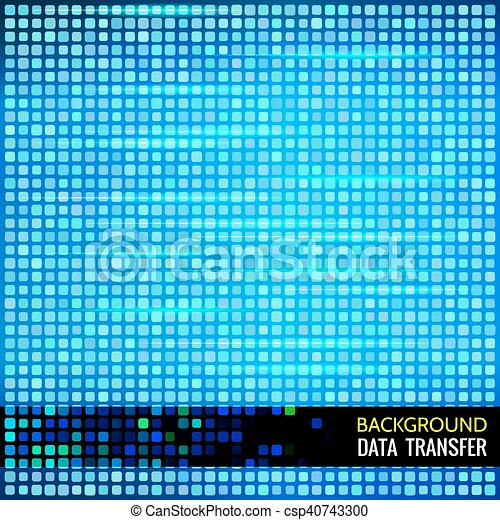 Abstract vector background for data theme - csp40743300