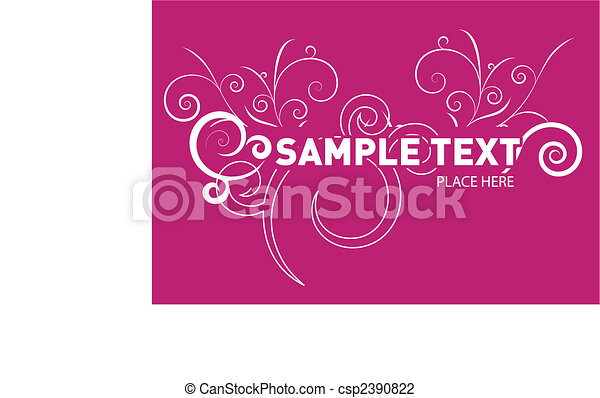 abstract vector background  - csp2390822