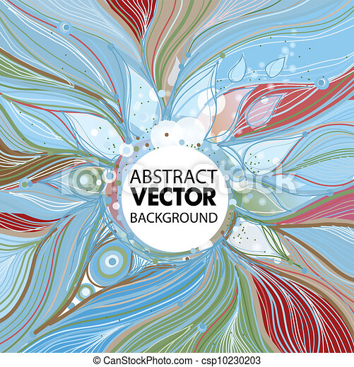 Abstract Vector background - csp10230203