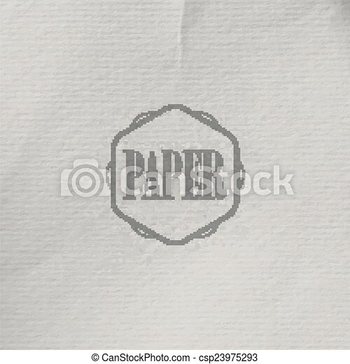 abstract vector background with old crumpled paper texture - csp23975293
