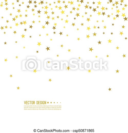Abstract vector background with starry. - csp50871865