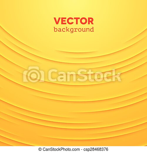 Abstract vector background with yellow layers - csp28468376