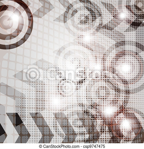 abstract vector backgrounds - csp9747475