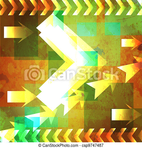 abstract vector backgrounds - csp9747487