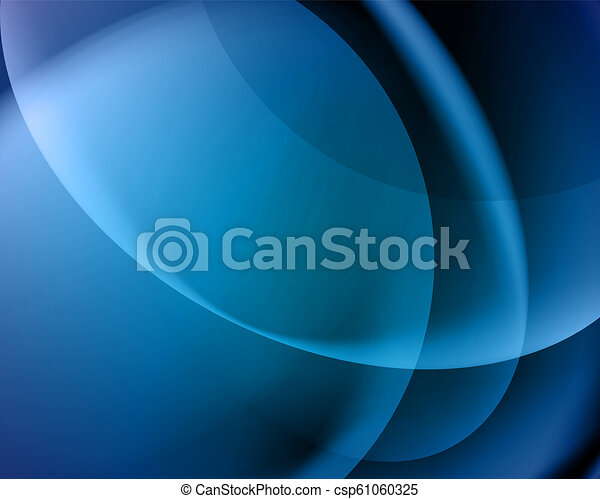 abstract vector blue background/blur - csp61060325