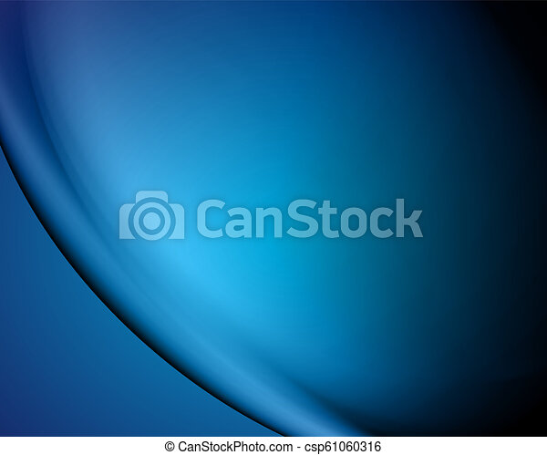 abstract vector blue background/blur - csp61060316