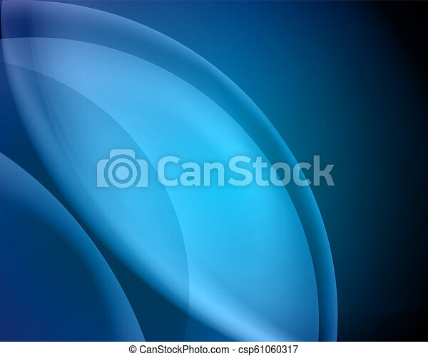 abstract vector blue background/blur - csp61060317