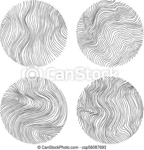 Abstract Vector Circles - csp56087693