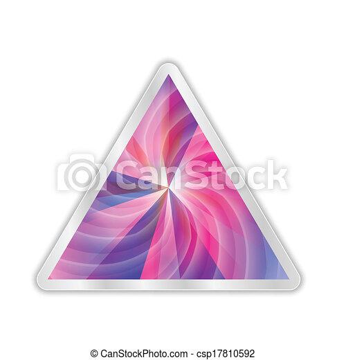 abstract, vector, driehoek - csp17810592