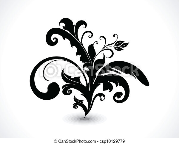 abstract vector floral vector  - csp10129779