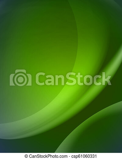 abstract vector green background/blur - csp61060331