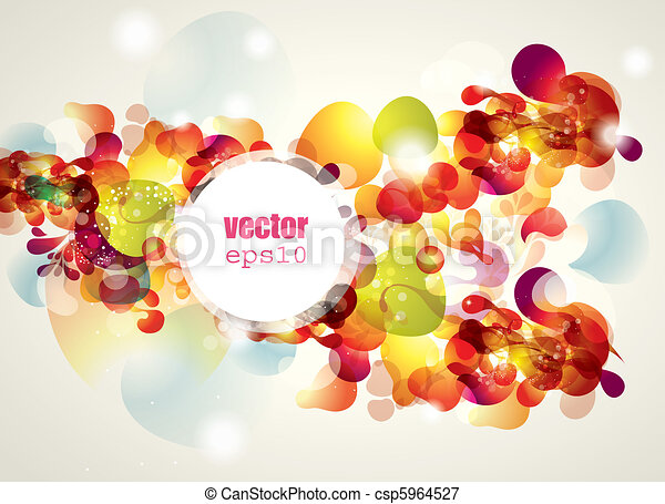Abstract vector illustration - csp5964527